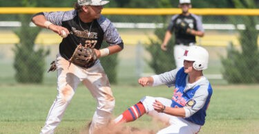Out at second, but safe at 1st