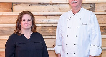"Photo by Jeff Heidel  Delish owners Ann Koehn and Chef Dan Gottnide describe their new undertaking as ""traditional with a twist."" Delish will open in mid-to-late February."