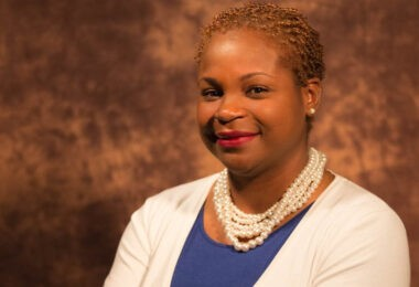 Dr. Khalilah Doss, vice president for student life and dean of students at McPherson College.