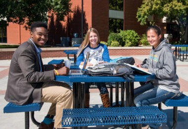 Central Christian College students are a diverse group. The college was named to a U.S. News and World Report top 10 list of most ethnically-diverse students.