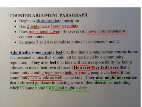 Sample essay papers