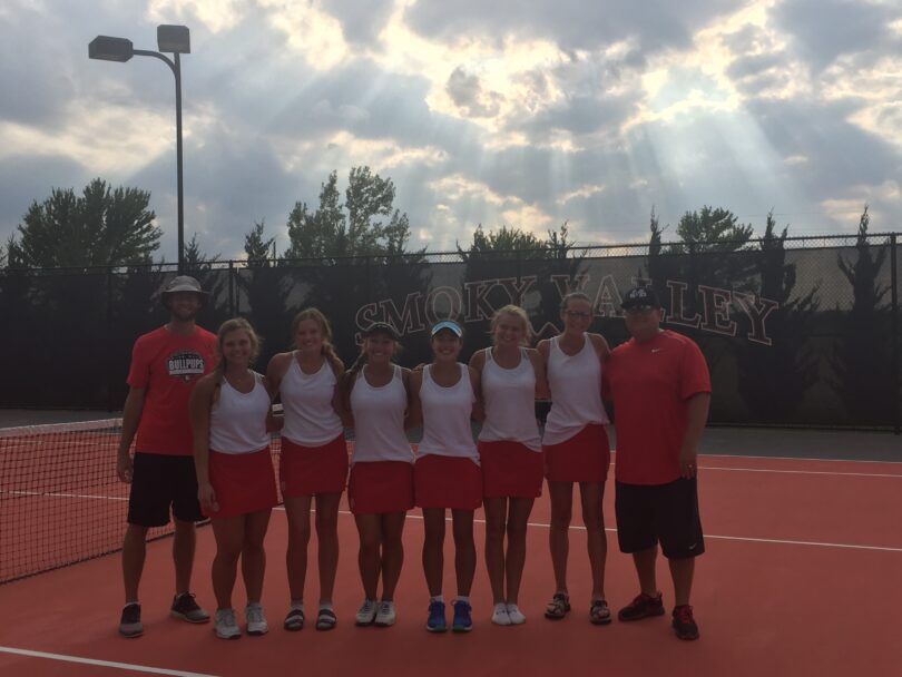 Bullpup Girls Tennis Team Is Smoky Valley Invite Champ Mcpherson